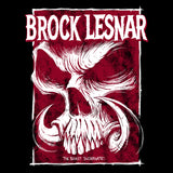 WWE Brock Lesnar Beast Horn Official Women's T-shirt (Black)