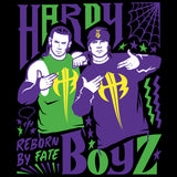 Cool New WWE Hardy Boyz Reborn By Fate Official Women's T-shirt (Black) - Urban Species Ladies Short Sleeved T-Shirt