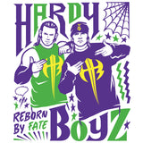 Cool New WWE Hardy Boyz Reborn By Fate Official Men's T-shirt (White) - Urban Species Mens Short Sleeved T-Shirt
