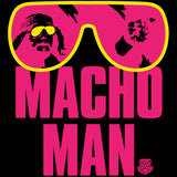 WWE Macho Man Shades Official Men's T-shirt (Black)