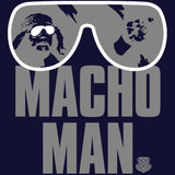 WWE Macho Man Shades Official Women's T-shirt (Navy) - Urban Species Ladies Short Sleeved T-Shirt