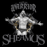 WWE Sheamus Logo Celtic Warrior Official Men's T-shirt (Black) - Urban Species Mens Short Sleeved T-Shirt