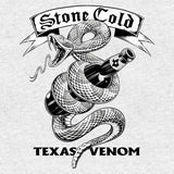 Cool New WWE Stone Cold Steve Austin Comic Texas Venom Official Women's T-shirt (Heather Grey) - Urban Species Ladies Short Sleeved T-Shirt