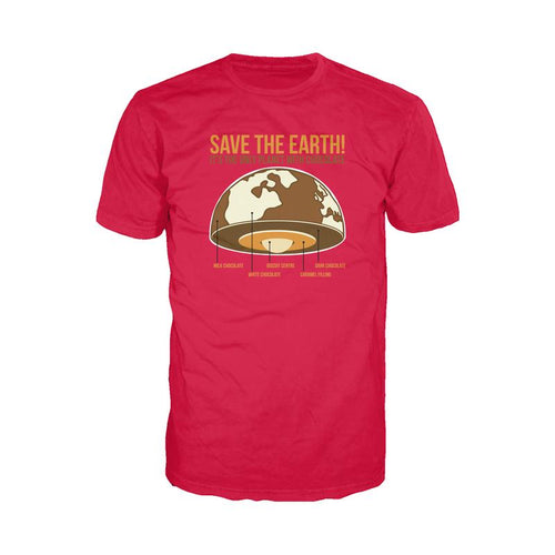 I Love Science Save The Earth - Chocolate (Red)