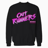 4 Quarters Logo Outrunners Official Sweatshirt (Black) - Urban Species Mens Sweatshirt