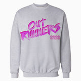 4 Quarters Logo Outrunners Official Sweatshirt (Heather Grey) - Urban Species Mens Sweatshirt