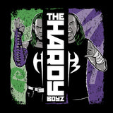 Cool New WWE Hardy Boyz Splash Official Men's T-shirt (Black) - Urban Species Mens Short Sleeved T-Shirt