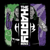 WWE Hardy Boyz Splash Official Women's Long Tank Dress (Black)