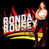 WWE Ronda Rousey Cover Official Sweatshirt (Black)