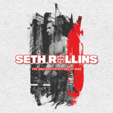 WWE Seth Rollins Undisputed Official Men's T-shirt (Heather Grey)