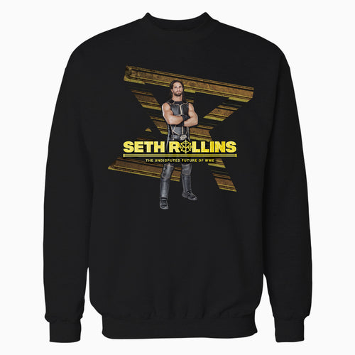 WWE Seth Rollins Future Gold Official Sweatshirt (Black)