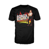 Cool New WWE Ronda Rousey Cover Official Men's T-shirt (Black) - Urban Species Mens Short Sleeved T-Shirt