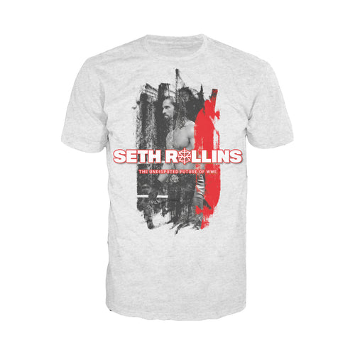 WWE Seth Rollins Undisputed Official Men's T-shirt (Heather Grey) - Urban Species Mens Short Sleeved T-Shirt