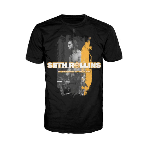 Cool New WWE Seth Rollins Undisputed Official Men's T-shirt (Black) - Urban Species Mens Short Sleeved T-Shirt