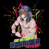 WWE Black Label Ultimate Warrior Official Men's T-shirt (Black)
