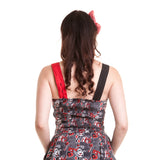 DC Comics Harley Quinn HAHA Repeat Official Women's Dress (Black) - Urban Species Ladies Dress