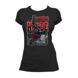 Warcraft Horde Official Women's T-shirt (Black)
