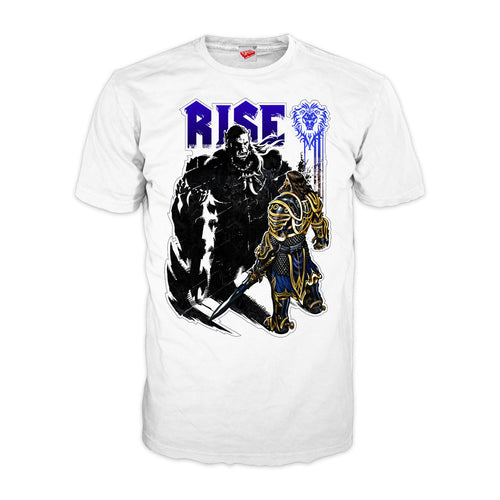 Warcraft Rise Official Men's T-shirt (White)