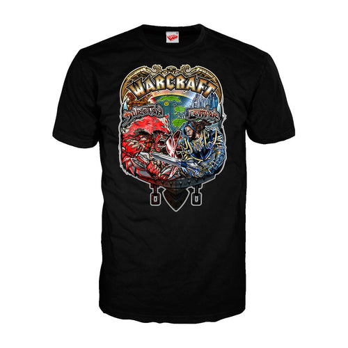 Warcraft Vs Official Men's T-shirt (Black)