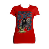 WWE Roman Reigns Comic Splash Women's Red T-shirt