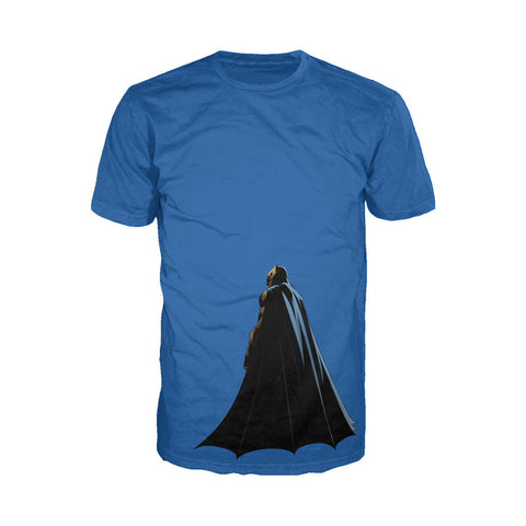 DC Batman V Superman Batman Character Cloak Official Men's T-shirt (Royal Blue) - Urban Species Mens Short Sleeved T-Shirt