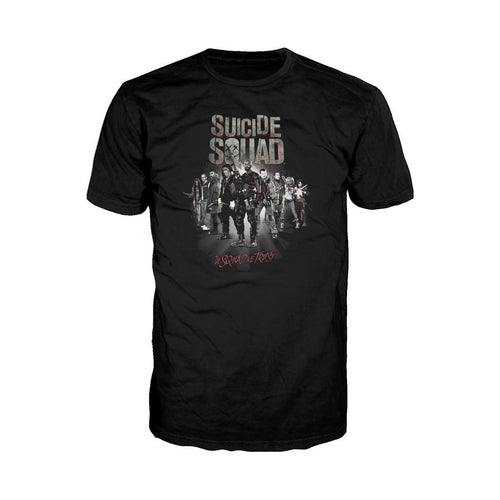 DC Suicide Squad Trust Official Men's T-shirt (Black) - Urban Species Mens Short Sleeved T-Shirt