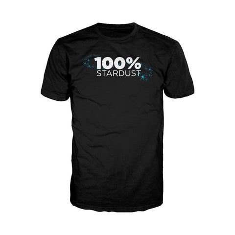 I Love Science 100% Stardust Official Men's T-shirt (Black) - Urban Species Mens Short Sleeved T-Shirt
