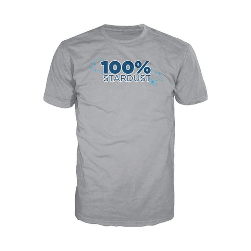 I Love Science 100% Stardust Official Men's T-shirt (Heather Grey)