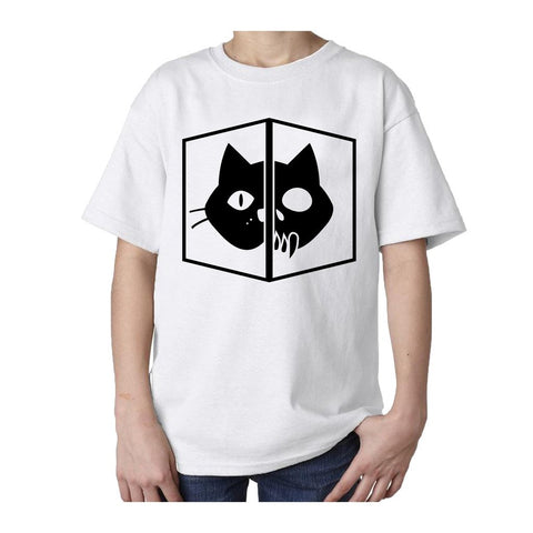 I Love Science Schrodinger's Cat Official Kid's T-shirt (White)