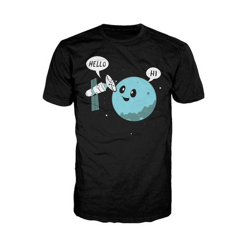 I Love Science Planet Official Men's T-shirt (Black)