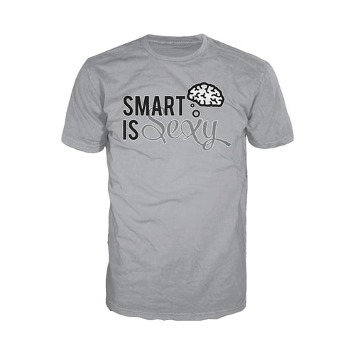 I Love Science Smart Is Sexy Official Men's T-shirt (Heather Grey)