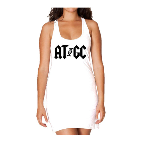 I Love Science AT/GC Official Women's Long Tank Dress (White)