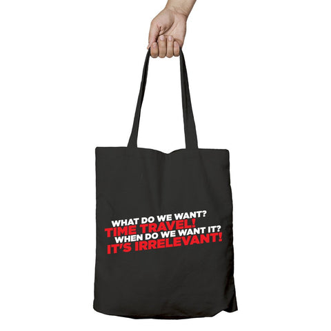 I Love Science Time Travel Official Tote Bag (Black)