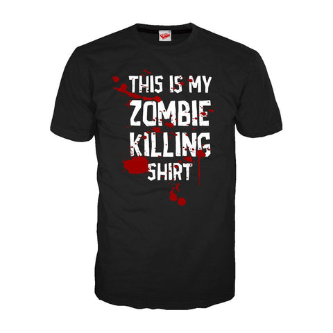 Zombie Killing - Adult Joke T-shirt (Black)