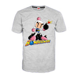 Bomberman Bombing Official Men's T-shirt (Heather Grey) - Urban Species Mens Short Sleeved T-Shirt