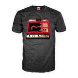 Gradius Arcade Boss Dragon Official Men's T-shirt (Black) - Urban Species Mens Short Sleeved T-Shirt