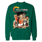 Contra Box Art Official Sweater (Green)