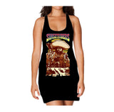 Sunset Riders Poster Movie Custom Official Women's Long Tank Dress (Black)