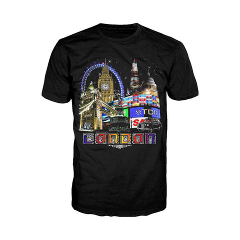 London Fine Art Men's T-shirt (Black)