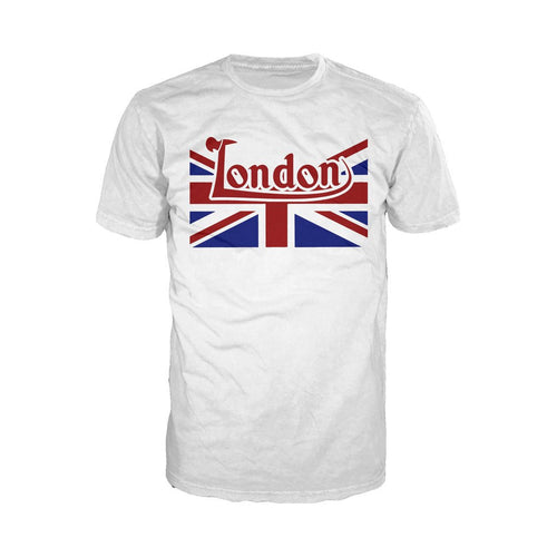London Rub for Luck Men's T-shirt (White) - Urban Species Mens Short Sleeved T-Shirt
