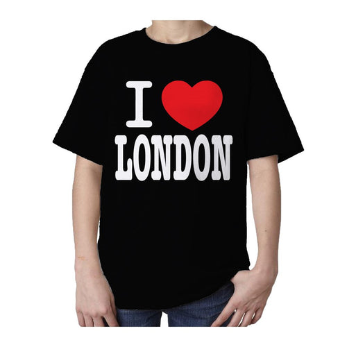 Kids I Love London T-shirt (Black)