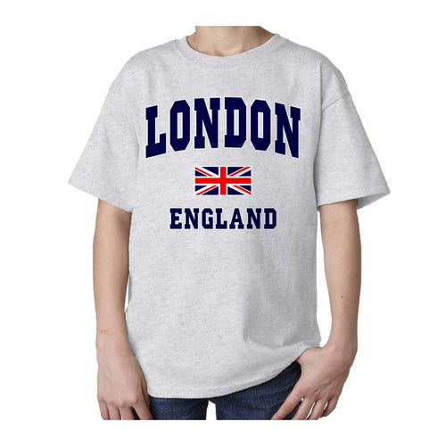 Kids London Expantex T-shirt (Heather Grey) - Urban Species Kids Short Sleeved T-Shirt
