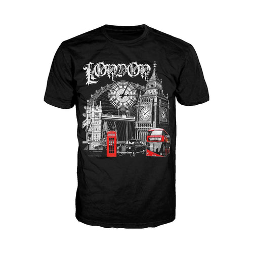 London Technicolour Men's T-shirt (Black)