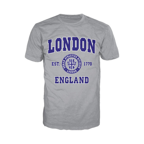 London Urban Athletic Men's T-shirt (Heather Grey) - Urban Species Mens Short Sleeved T-Shirt