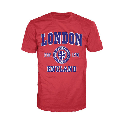 London Urban Athletic Men's T-shirt (Red)