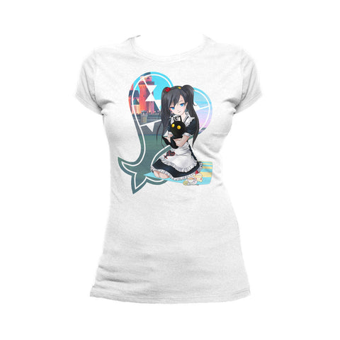 Otaku Caf̩ Heartless Official Women's T-shirt (White)