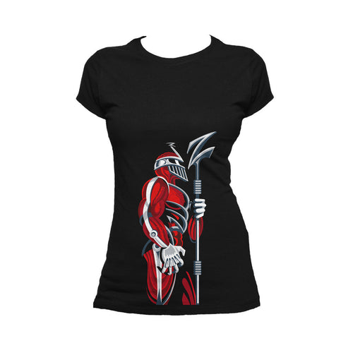 Power Rangers Lord Zedd Deco Official Women's T-shirt (Black)