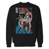 DC Comics Wonder Woman Cover #55 Official Sweatshirt (Black)
