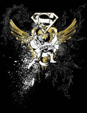 DC Comics Superman Bling Official Men's T-shirt (Black)