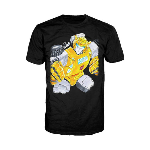 Transformers G1 Bumblebee Official Men's T-shirt (Black)